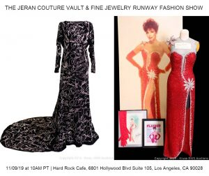 """World Famous """"Hollywood Graffiti Gown"""" Hits the Auction Block For The First Time Ever @ The Hard Rock Café Hollywood 