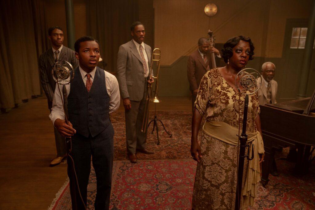 Ma Rainey's Black Bottom starring Chadwick Boseman and Viola Davis